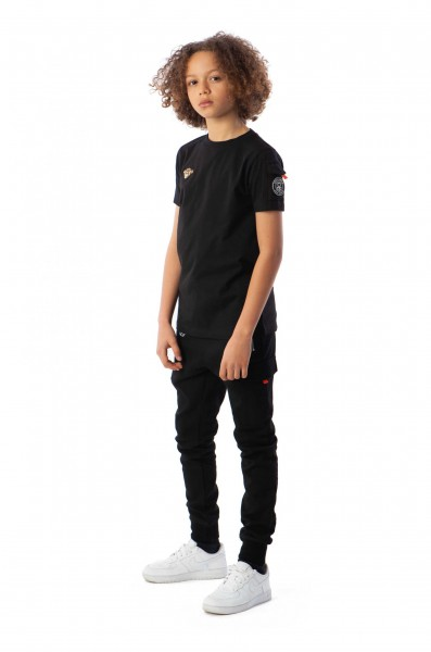 BLACK BANANAS - TECH JOGGER kids - zwart