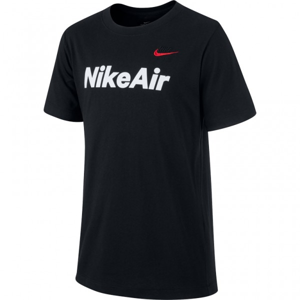 NIKE - AIR JR T-shirt - zwart