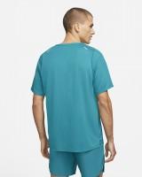 NIKE - BREATHE RISE 365 runningshirt men - blauw