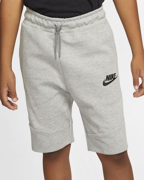 NIKE Jongens korte broek - Tech Fleece grijs