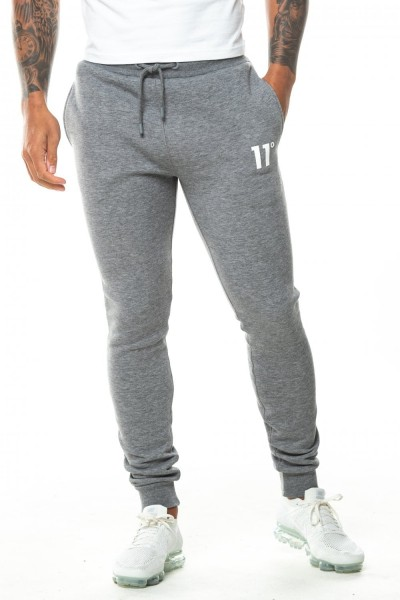 11 DEGREES - CORE Joggers Skinny Fit men - grijs