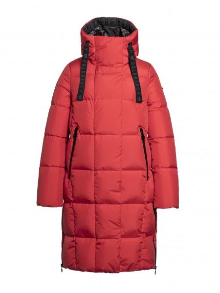 Adele coat red
