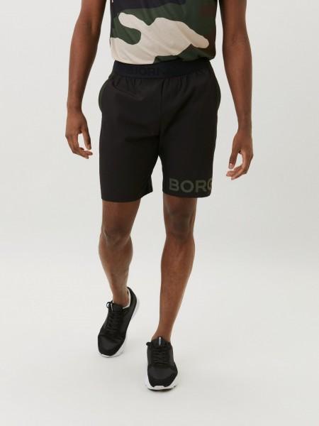 BJORN BORG - BORG trainingsshort heren - zwart