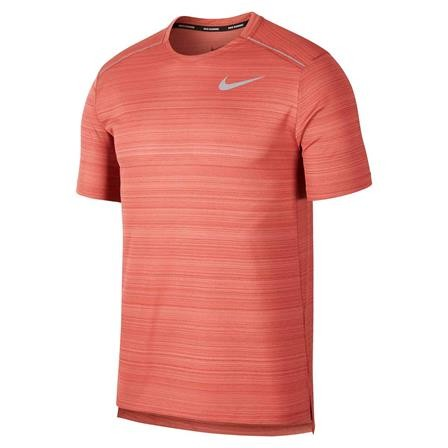 NIKE - DRY MILER top - licht rood