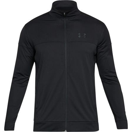 UNDER ARMOUR - PIQUE vest - zwart