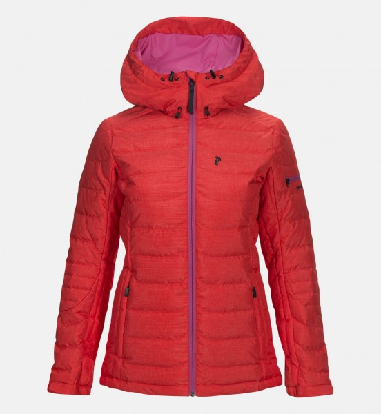PEAK PERFORMANCE - BLACKBURN jas - rood