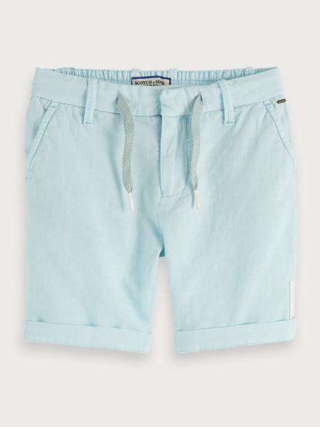SCOTCH & SODA - KEONI short - licht blauw