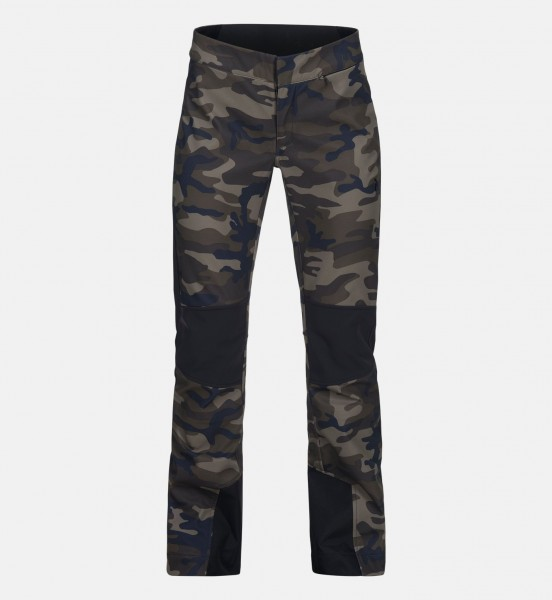 PEAK PERFORMANCE - SILVAPLANA PRINTED PADDED skibroek - groen