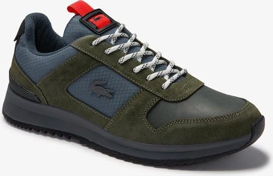 LACOSTE - JOGGEUR sneaker men - grijs/groen