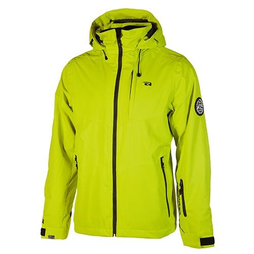 REHALL - CODY R ski jas - groen - lime - Haarlem