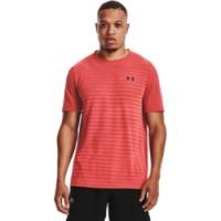 UNDER ARMOUR - SEAMLESS FADE sportshirt men - rood