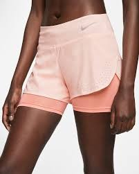 NIKE - ECLIPS 2 IN 1 short - roze