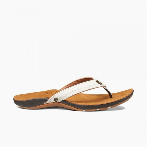 REEF - MISS J-BAY slippers - wit
