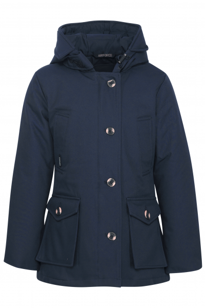 AIRFORCE - 4 POCKET PARKA girls - donkerblauw