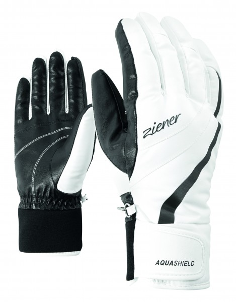 ZIENER - KITTY AS (R) handschoenen - wit