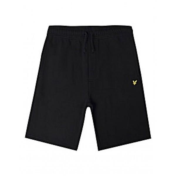 LYLE & SCOTT - SWEAT shorts kids - zwart
