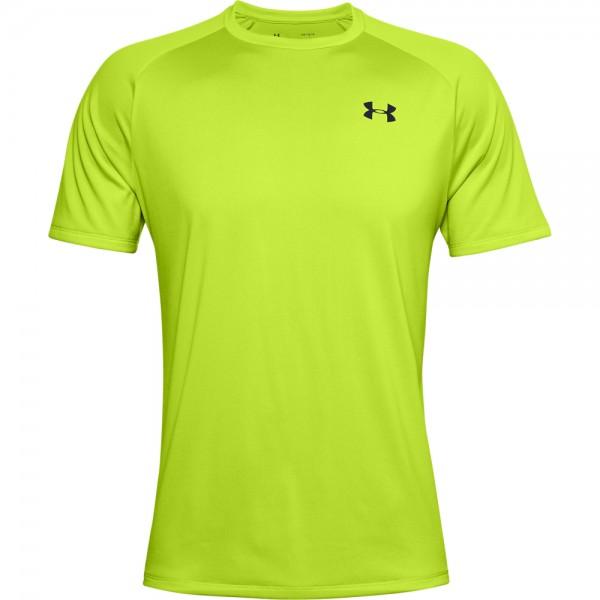UNDER ARMOUR - TECH runningshirt men - groen