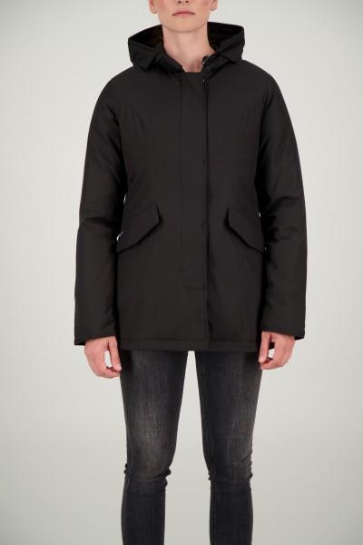 AIRFORCE - 2 POCKET HERRINGBONE jas dames - zwart
