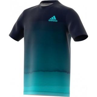 ADIDAS - PARLEY T-shirt - blauw