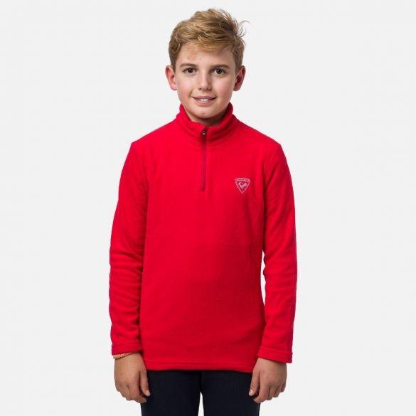 ROSSIGNOL - 1/2 ZIP FLEECE skipully boys - rood