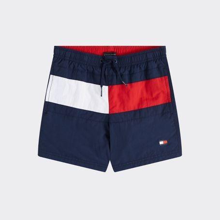 TOMMY - Flag Zwemshort boys - donkerblauw