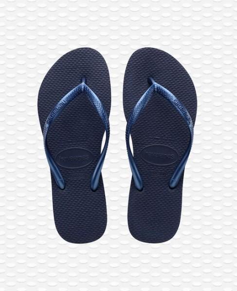 HAVAIANAS - Slim Slippers women - donkerblauw