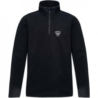 ROSSIGNOL - 1/2 ZIP FLEECE skipully boys - zwart